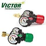 Set of Genuine Victor Edge ESS3 Oxygen & Acetylene Regulators, Brand New