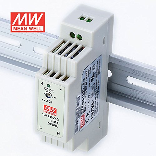 MEAN WELL DR-15-5 Power Supply 15W 5V 2.4A Constant Current Low No-load Loss by MEAN WELL