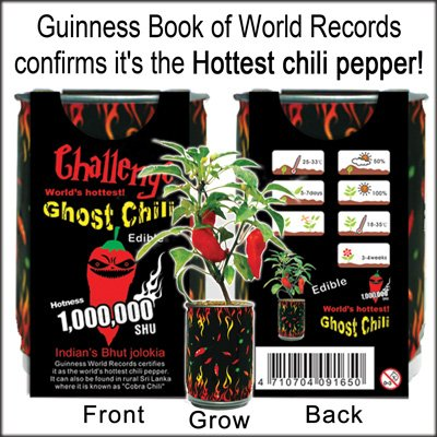 Grow Your Own Ghost Chili Peppers