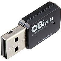 Obihai Technology OBIWIFI5G Obihai OBiWiFi5G 2.4/5GHz Wireless 802.11AC Adapter for OBi200, OBi202, OBi1022, OBi1032, OBi1062 VoIP Phone and Device
