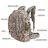 ARMYCAMOUSA 40L - 64 L Outdoor 3 Day Expandable Tactical...