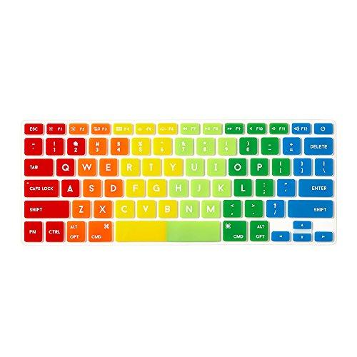 mac keyboard cover rainbow - 4