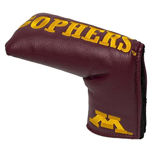 Team Golf NCAA Minnesota Golden Gophers Golf Club Vintage Blade Putter Headcover, Form Fitting Design, Fits Scotty Cameron, Taylormade, Odyssey, Titleist, Ping, Callaway