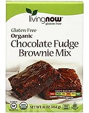 Now Foods, Organic Gluten-Free Chocolate Fudge Brownie Mix 16 Oz