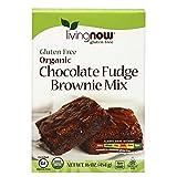 NOW Foods Organic Chocolate Fudge Brownie Mix, 16 Ounce