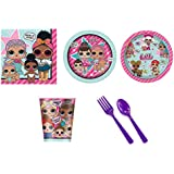 BirthdayExpress LOL Surprise Party Supplies Party Pack for 16