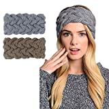 Womens Winter Knitted Headband - Crochet Twist Hair Band Turban Headwrap Hat Cap Einter headband Ear Warmer