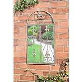 DELEX® Graceful Rustic Look Vintage Garden Mirror Ornament