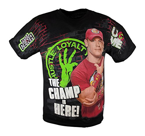 af4f9e77c648 John Cena Champ Is Here WWE Red Boys Kids T-shirt - Buy Online in Oman.    Apparel Products in Oman - See Prices, Reviews and Free Delivery in Muscat,  Seeb, ...