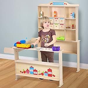 Infantastic - Puesto de mercado para niños de madera