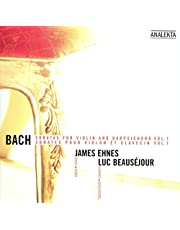 Bach: Sonatas for Violin and Harpsichord, Vol. 1 / Sonates pour violon et clavecin, Vol. 1