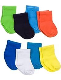 Baby Boys' 8-Pair Sock