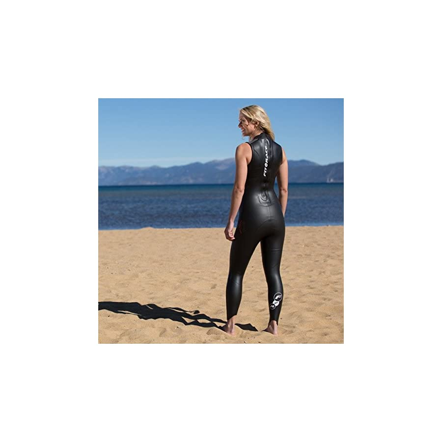 Fit2Race Sleeveless Triathlon Wetsuit Team in Training/F2R Sockeye Unisex