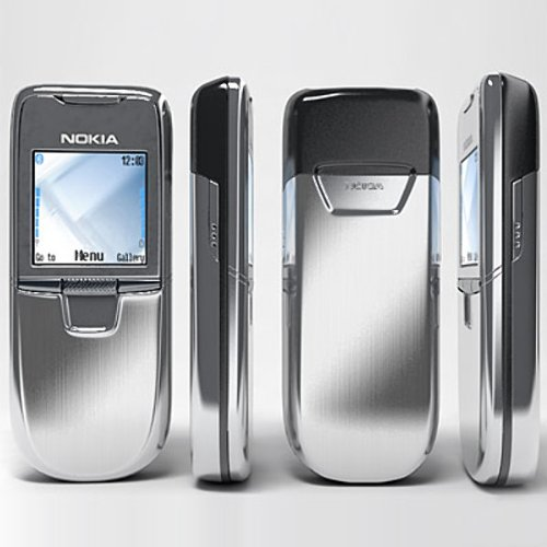 Nokia Unlocked 8800 Metal Sliding Cover Mobile Phone Spare Old Man Mobile Phone (Light Gray)