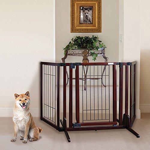 Richell Premium Plus Freestanding Pet Gate - by Richell