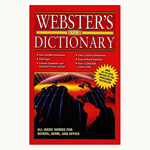 WEBSTER Jumbo 320 Pg. English-English Dictionary, Case Pack of 48