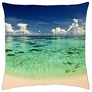 fantastic sea and sky - Throw Pillow Cover Case (18
