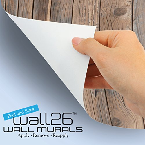 wall26 - Peering into a Vibrantly Colored Space - Wall Mural, Removable Sticker, Home Decor - 100x144 inches by wall26 (Image #3)