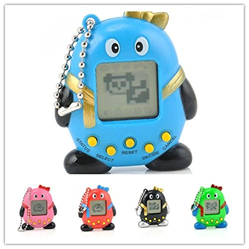 (2 Pcs Electronic Digital Pet Machine Game,168 Virtual Pets Feed in One Penguin Machin)