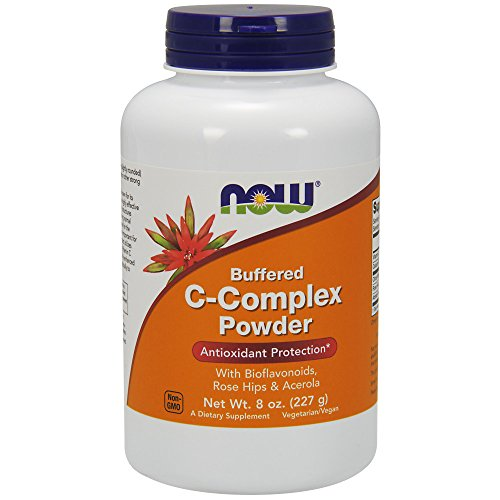 NOW Vitamin C-Complex Powder, 8-Ounce