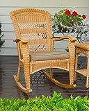 Tortuga Outdoor Portside Plantation Rocking Chair, Amber