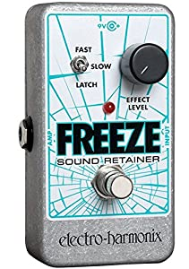 electro harmonix freeze sound retainer compression guitar effects pedal musical. Black Bedroom Furniture Sets. Home Design Ideas