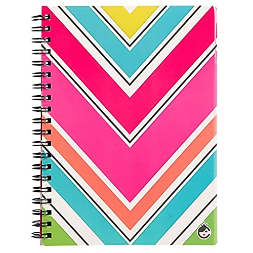 "durable modeling Studio C Sugarland Personal Notebook, 7"" x 5"", College Ruled, 80 Sheets, Assortment of 6 Notebooks (25513)"