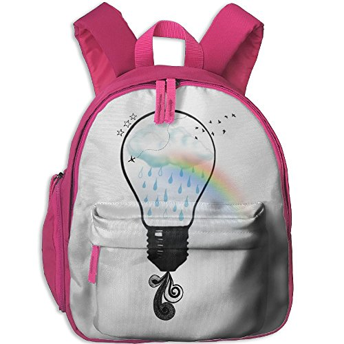 Cute-Hipster Printed Kids School Backpack Cool Children Bookbag Pink by PENTA ANGEL