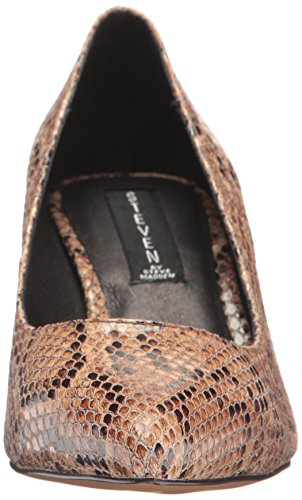 STEVEN Madden Natural Bambu Dress Steve Pump Women's Multi by REwZxr0qnR