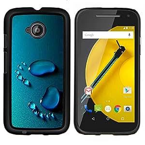 Caucho caso de Shell duro de la cubierta de accesorios de protección BY RAYDREAMMM - Motorola Moto E2 E2nd Gen - Bebé Pasos