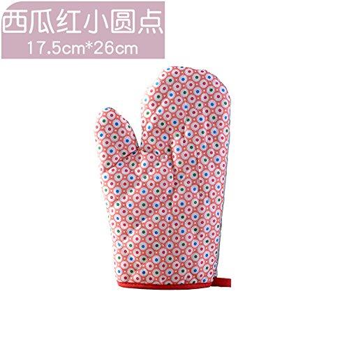 XIAOYANJIA Espesar los guantes anti-quemaduras del horno de ...