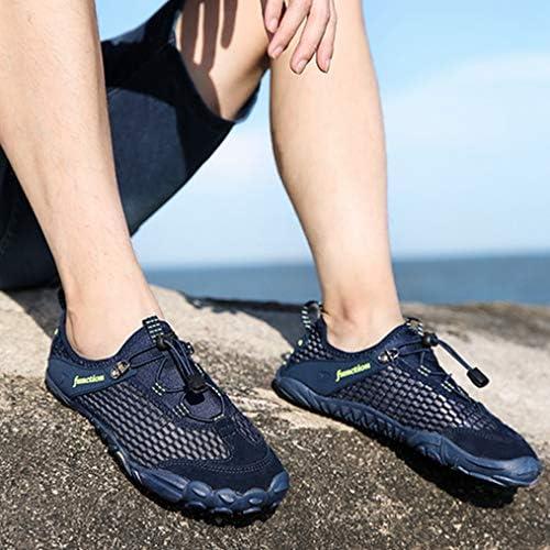 ウォーキングシューズ ハイキングシューズ 通気性 メンズ ローカットスニーカー シューズ 靴 レースアップ 耐摩耗性 遠足 幅広 歩きやすい 防滑クライミングシューズスポーツシューズ 水陸両用 登山靴