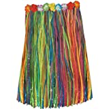 Beistle 50491-MC Child Artificial Grass Hula Skirt, 27 by 20-Inch