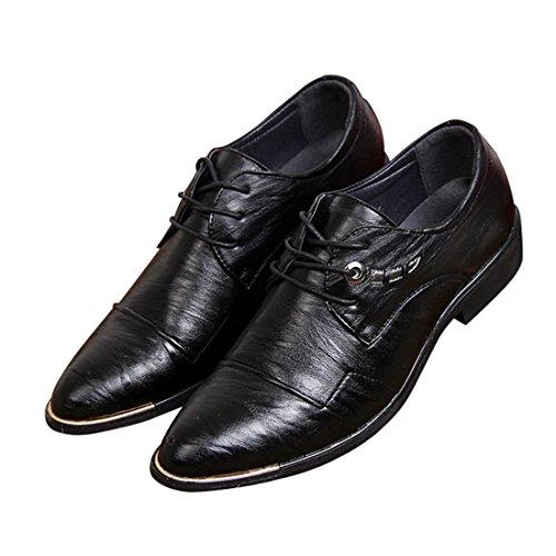 qianchuangyuan Chaussures de Ville Pour Hommes Neuves Cuir PU