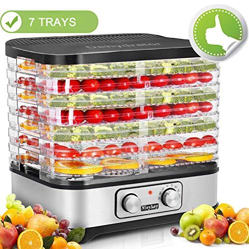 Food Dehydrator Machine, Jerky Dehydrators with 7-Tray, Knob Button by SuperPostman (Image #10)