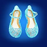 Cinderella Baby Girls Soft Crystal Plastic Shoes