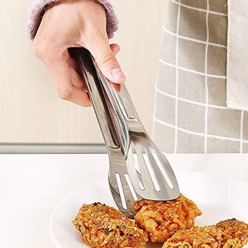 Outils de cuisine Cuisine en acier inoxydable pinces pince barbecue alimentaire cuisine pinces à barbecue