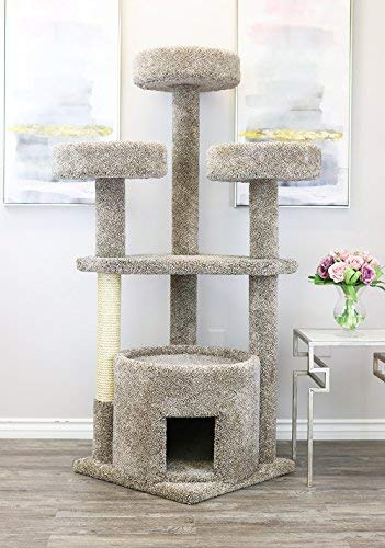 Prestige Cat Trees 130014-Neutral Main Coon Cat House Cat - Nut Condo