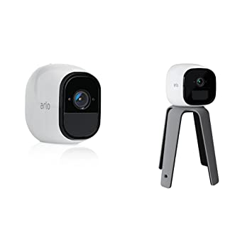Arlo VMC4030-100EUS Netgear Pro HD - Cámara adicional de seguridad y vídeo vigilancia sin