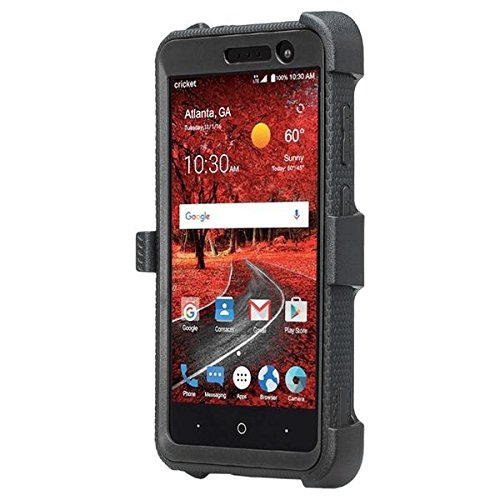 COVERLABUSA Belt Clip Holster Compatible for ZTE ZMAX One (Z719DL) Case,ZTE  Blade Spark Z971 Case,ZTE Grand X4 Case [Shock Proof] Heavy Duty, Full