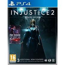 Injustice 2 Deluxe Steelbook Edition (PS4) UK IMPORT REGION FREE