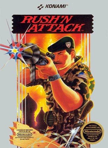Rush N Attack Nintendo NES