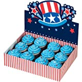 uncles bakery - Wilton 12-Cavity Cupcake Bakery Box, Uncle Sam, 1-Pack