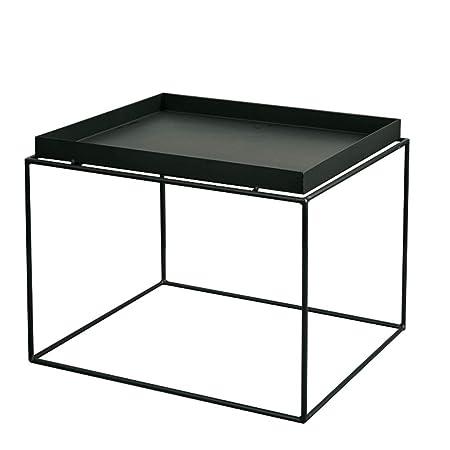 Tavolino Salotto Ferro Battuto.Fyong Tavolino Da Salotto In Metallo Tavolo Da Pranzo In Ferro