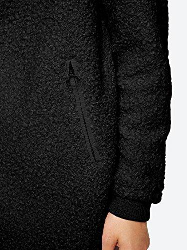 Bench Easy Coat, Abrigo para Mujer Negro (Black Beauty Bk11179)