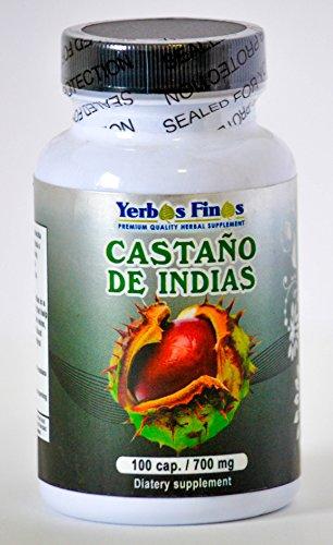 Yerbas Finas Castano de Indias 90 Cap/ 700mg Dietary Supplement