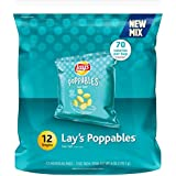 Lay's Poppables Sea Salt Potato Snacks, 12 Count