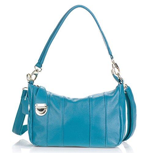 Mefly Solo Hombro Bolsa De Dama Moda Transversal Oblicua Solo Hombro Bolsa Pequeña Transversal Oblicua Naturals blue