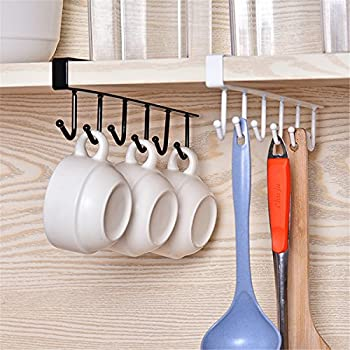 Amazon.com - GeLive Under Cabinet Coffee Mug Hook Holder Kitchen ...