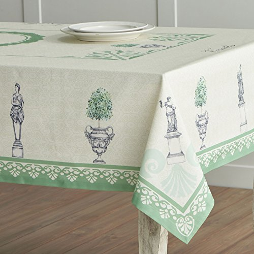 Maison d' Hermine Jardin du Roy 100% Cotton Tablecloth 54 - inch by 72 - inch. (Table Jardin)